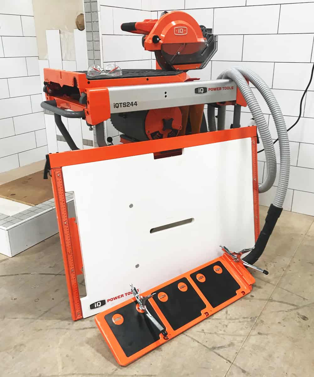 iQ 360XR Dust Control Table Saw